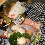 One of the breakie hampers