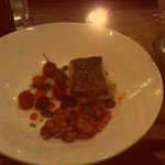  Pan-fried Hake with a Chorizo and Bean casserole