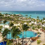 view from our Aruba suite