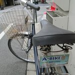 rental cycle 600yen/day