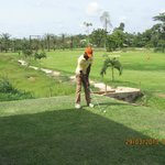 the golf pro Awudu