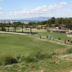  Lumine Hills Course Practice area and club house