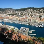View of Nice Harbour