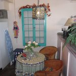  dinette in the casita