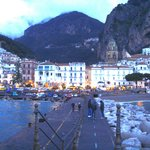  Amalfi dusk from the jetty