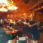 The most absolutely wonderful and entertaining waitress at The Depot. If you are lucky enough to