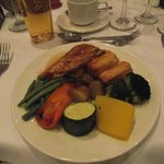 our wedding breakfast main course