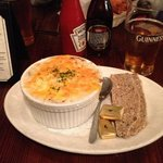 shepherd's pie and soda bread