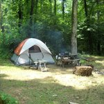 Catawba Falls Campground resmi