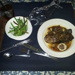 $40 steak and green beans from room service
