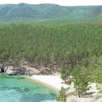 Taiga Forest and beach area Peschanaya