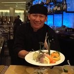  You cannot miss the sushi bar at the Grand Hyatt DFW!