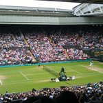  Federer on Centre Court
