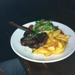 steak & chips @ lunch