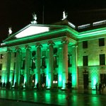 The GPO on O'Connel Street in Green (Airlink bus stop)
