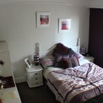 The 'purple' double room