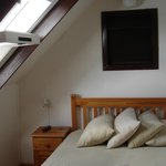 Skylights above double bed in 4 sleeper