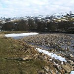  The River Swale - literally just outside!