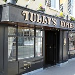 The front of house at Tulley's Hotel, Castlrea