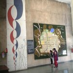 Chandigarh Architecture Museum - Map of Chandigarh and Le Corbusier's Modular System