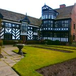 Rear view of Gawsworth Hall