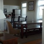  Nice family dining table and full kitchen