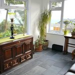  New sun room for guests with views towards Godrevy