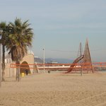  Beach with play ground