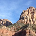 view from watchman campground.