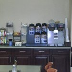 Breakfast Coffee Area