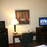 Every Hotel Room has a Flat Screen TV, Microwave, and Fridge