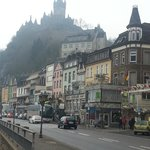 Cochem as seen from the highway