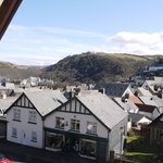  View from room 1 across Lynton to Summerhouse Hill
