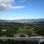 Kelowna City and Okanagan Lake views