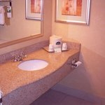  Granite counters and tub/shower stall
