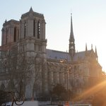  Sunrise view of Notre Dame from Room 3