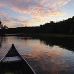 St. Croix River view from a canoe