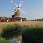 Cley Windmill by the River Glaven