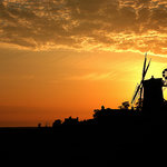 Cley windmill sunset