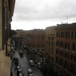 "Looking left from ""Parent's Room"" towards the passage btwn Vatican and Castel Sant'Angelo"