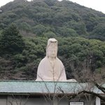 Maruyama park walk south of KTI: WWII memorial Ryozen Kannon.  Closed when I was there at 8am :(