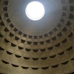 The roof of the Pantheon