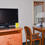 tv and small table
