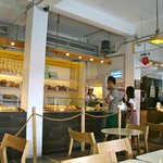  Inside the bakeshop/coffeeshop