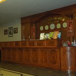 Reception Desk at Golden House