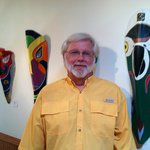  Innkeeper Bob in his Gallery of Masks