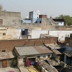 View our room on the 3rd floor - that's Old Delhi
