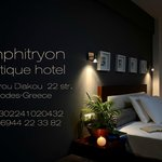 Photo de Amphitryon Boutique Hotel