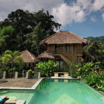  Villa Manuk Bambu and Spring Water Swimming Pool