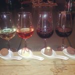 We upgraded to a Chocolate & WineTasting the next morning - my Instagram photo